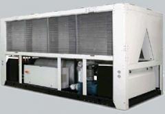 Холодильные машины GALLETTI LCS c воздушным