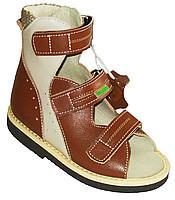 Сандалии Valgus 101-01 коричневый, беж