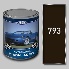 Acrylic Mixon Acryl autoenamel, Darkly brown 793,