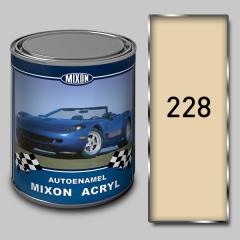 Acrylic Mixon Acryl autoenamel, Tea rose 228, 1 l
