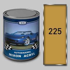 Acrylic Mixon Acryl autoenamel, Yellow 225, 1 l