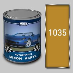 Acrylic Mixon Acryl autoenamel, Yellow 1035, 1 l