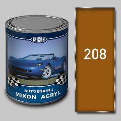 Акриловая автоэмаль Mixon Acryl, Охра 208, 1 л