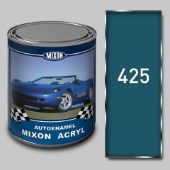 Acrylic autoenamel Mixon Acryl, Adriatic Sea 425,