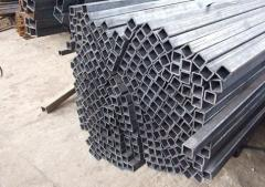 Алюминиевая профильная труба АД31, 100х100