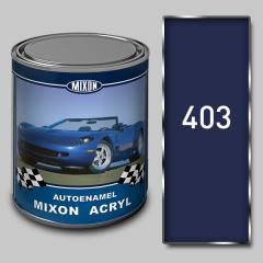 Acrylic autoenamel Mixon Acryl, Monte of Carlo
