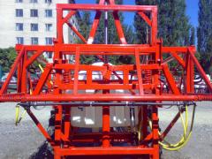 Bars of 18 m mechanical and gidrofitsirovanny to