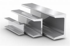 Aluminum channel 20 × 36 × 20 × 2