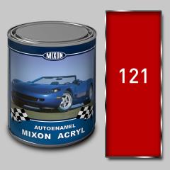 Акриловая автоэмаль Mixon Acryl, Реклама 121, 1 л