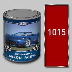 Acrylic Mixon Acryl autoenamel, Red 1015, 1 l