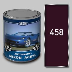 Acrylic Mixon Acryl autoenamel, Mulenruzh 458, 1 l