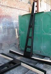 Пирамида для хранения и транспортировки стекла