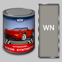 Alkidny automobile Mixon Synthetic paint, White