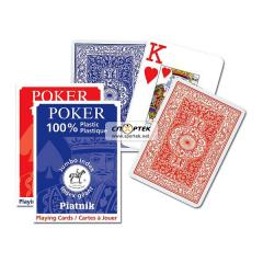 Playing cards Piatnik CLASSIK POKER of 55 l.