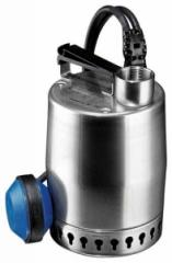 Submersible pump for a drainage and the sewerage
