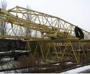 Кран башенный КБ-503А, 1991г, 10т, h-до73м, стрела