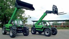Telescopic loaders of the DEUTZ-FAHR company