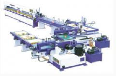 Automatic transfer line of edge merging of FJL 150