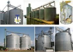 Elevators of silage type with system of loading,