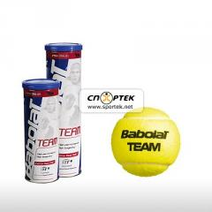 Balls for tennis of Babolat BALLS TEAM x 3 model: