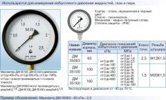 DM05 manometers