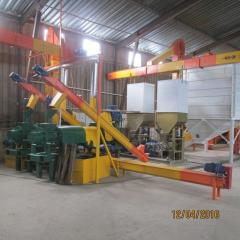 Line of soy processing