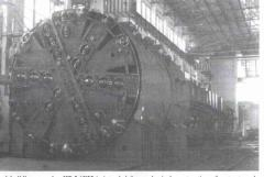 Complex tunnel-boring KT-5,6E22 for the mechanized