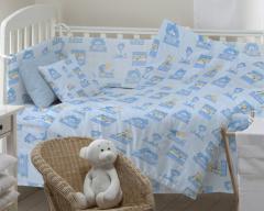 Bed children's fabrics of 150 cm, Hatinki