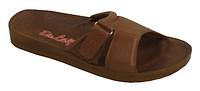 Обувь медицинская на липучке коричневые, Код: