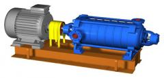 CM and CBK pumps - centrifugal, horizontal, console, one-stage