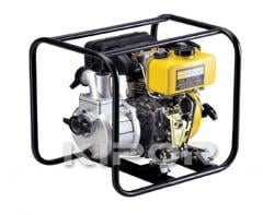 Motor-pump figurative with the diesel KDP 20 engine