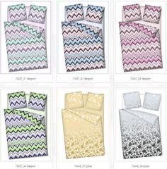 Bed fabrics of 220 cm Everes