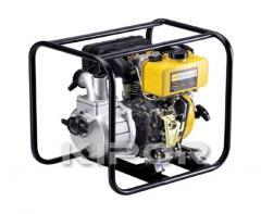 Мотопомпа переносна дизельним двигуном KDP 30