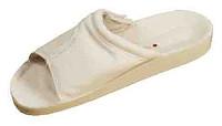 Обувь медицинская на липучке, белая, Код: