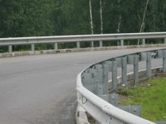 Отбойники, ограждения дорожные металлические
