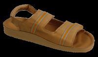 Обувь медицинская кожанная, сандалии бежевые, Код: