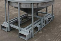Containers, reservoirs, bunkers for bulk solids