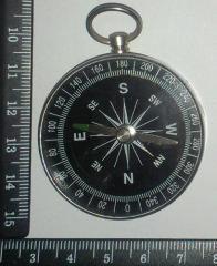 Компас G 44-2 большой круглый алюминевый