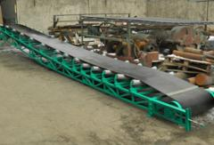 Belt conveyers for cargo transportation