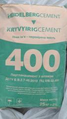 Цемент в мішках  ПЦ-Б 400,  КривийРіг Цемент...