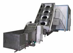 Set of the equipment for production of the
