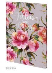 Записные книги в твердой обложке, B5, Flowers