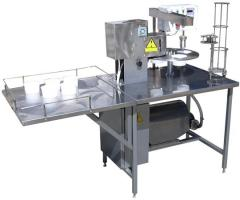 Set of the equipment for production of mayonnaise,