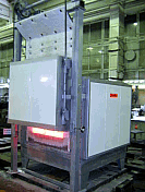 Furnaces electric chamber the Thermomaster series