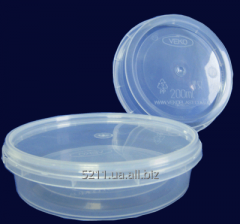 Container circle of 200 ml