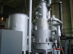 Gas generators for receiving generating gas from