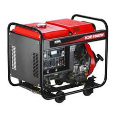 Агрегат сварочный, дизельный, с дополнительным генератором переменного тока 220В