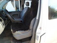 The automobile cover, sheepskin, black 26, the