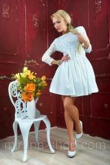 Платье гипюровое белое  Платья гипюровые