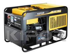 Power plant for the house, the dacha, a cottage, single-phase, the KDA19EAO diesel generator